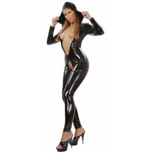 ledapol 1516 vinyl catsuit - lack overaller fetish