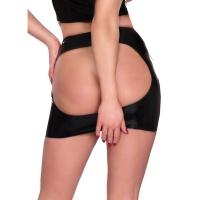 insistline 9153 fetish mini skirt - datex spanking skirt open ass