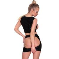 insistline 9153 datex minikjolar - fetish dask kjol öppen röv