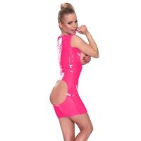 insistline 9168 datex mini klänning - fetish klänning