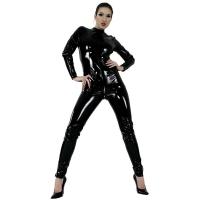 ledapol 1017 vinyl catsuit - lack overaller fetish