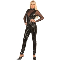 ledapol 1019 vinyl catsuit - lack overaller fetish
