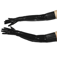 ledapol 1408 vinyl handskar - lack handskar fetish