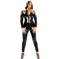 ledapol 1451 vinyl catsuit - lack overaller fetish