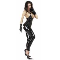 ledapol 1517 vinyl catsuit - lack overaller fetish