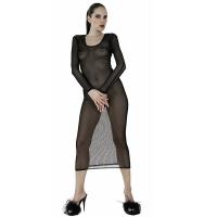 ledapol 1588 nätklänning - fisknäts klänning kvinnor - sexiga lingere