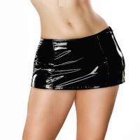 ledapol 1735 vinyl minikjolar - lack kort kjol fetish