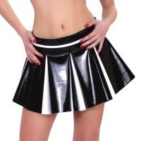 ledapol 1742 vinyl minikjolar - lack kort kjol fetish