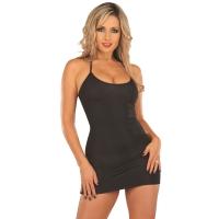 ledapol 3073 stretch klänning - tyg miniklänning - sexiga klänning