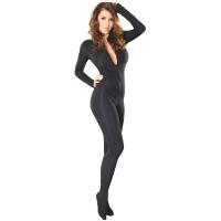 ledapol 3109 sexiga stretch catsuit - tyg överaller kvinnor