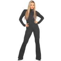 ledapol 3113 sexiga stretch catsuit - tyg överaller kvinnor