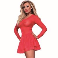 ledapol 3232 nätklänning - nät miniklänning - sexiga klänning