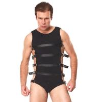 ledapol 5701 sm herr sele body läder - gay harness