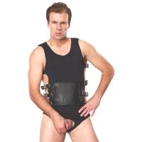 ledapol 5703 sm herr sele body läder - gay harness